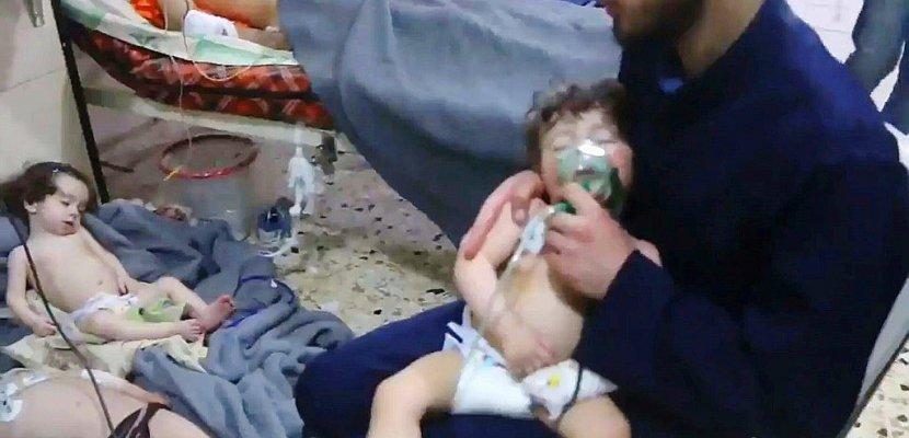"""Syrie : pour Assad, les accusations d'attaque chimique à Douma sont """"une farce"""""""