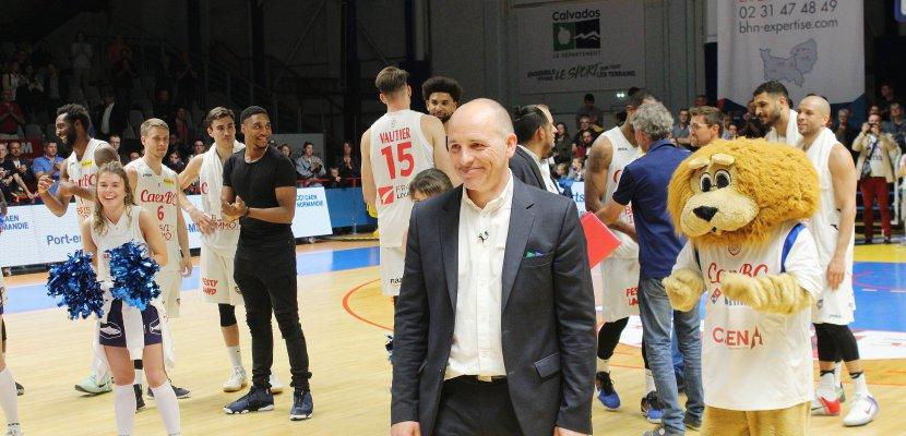 """Basket (Pro B) : Caen battu pour la """"der"""" d'Hervé Coudray"""