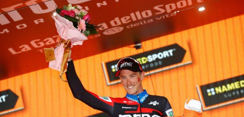 Tour d'Italie: le chrono tourne mal pour Pinot