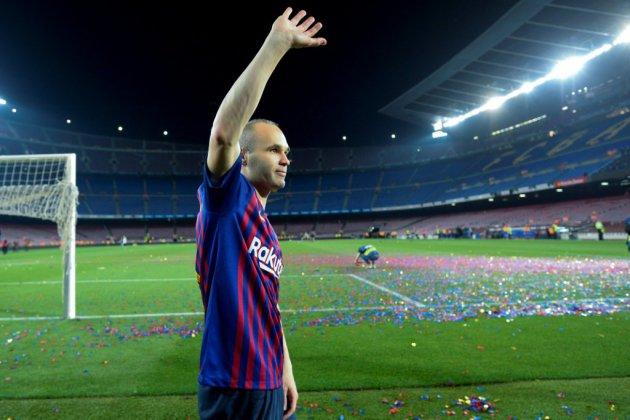 Transfert: l'icône du FC Barcelone Iniesta rejoint le club japonais Vissel Kobe