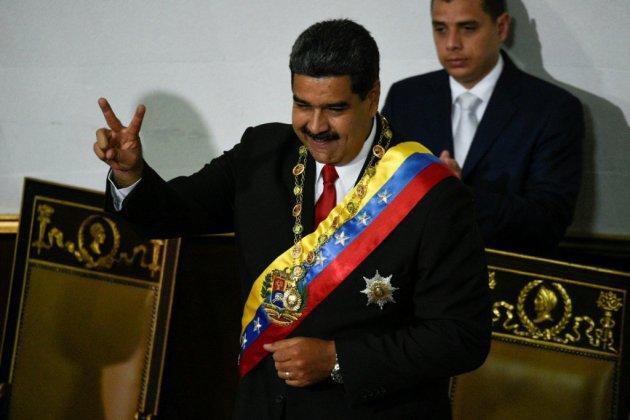 Venezuela: Nicolas Maduro prête serment et accuse les Etats-Unis de conspiration
