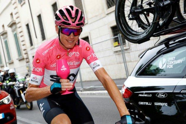 Cyclisme: Froome remporte le Tour d'Italie