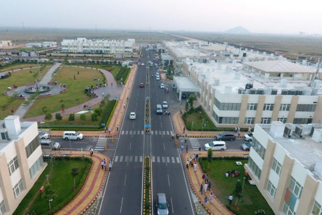 Amaravati, la ville nouvelle