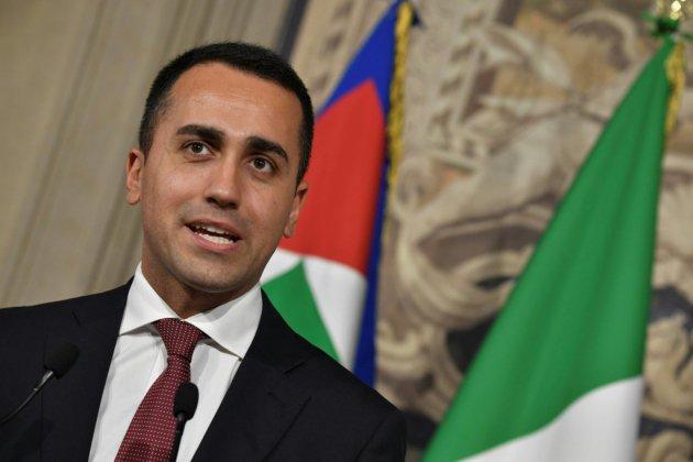 Italie : Di Maio relance l'hypothèse d'un gouvernement populiste