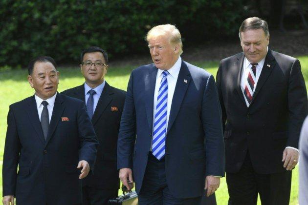 Trump confirme le sommet avec Kim après avoir reçu son bras droit dans le Bureau ovale