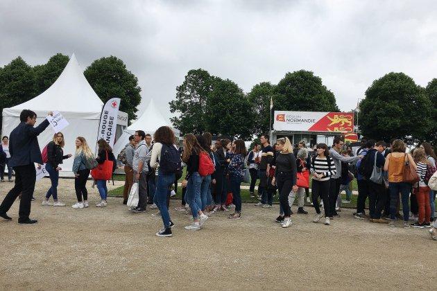 Caen: 800 lycéens réunis pour des objectifs de développement durable