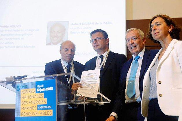 """EMR: 60 collectivités et industriels lancent """"l'appel de Cherbourg"""""""