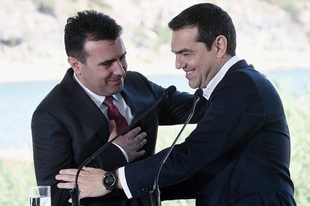 """Signature de l'accord historique pour l'appellation de la """"Macédoine du Nord"""""""