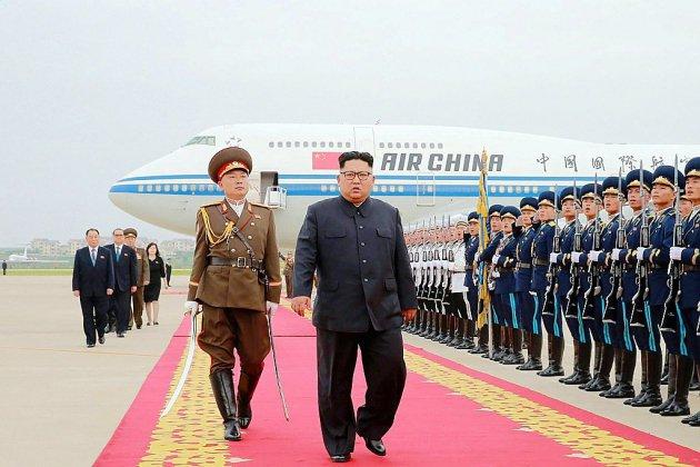 Kim Jong Un en Chine, une semaine après son sommet avec Trump