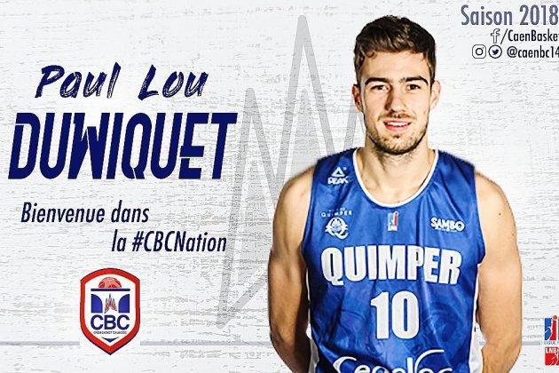 Le Caen Basket Calvados tient son premier arrière