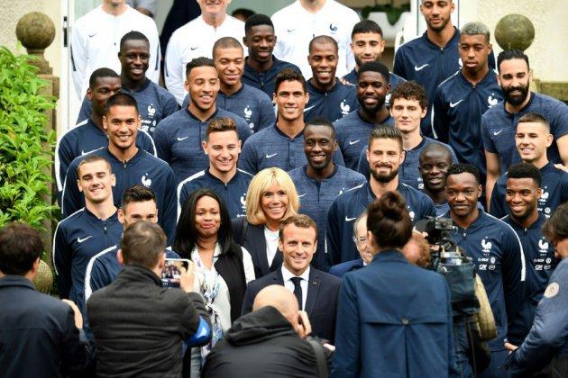 Mondial-2018: Macron voit les Bleus vainqueurs