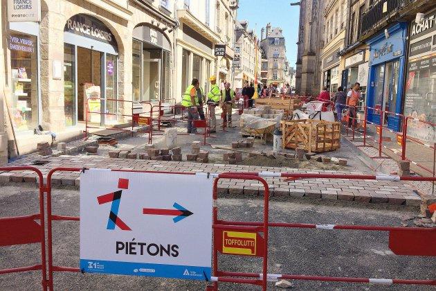 """Travaux à Alençon, à la """"reconquête du centre-ville"""""""