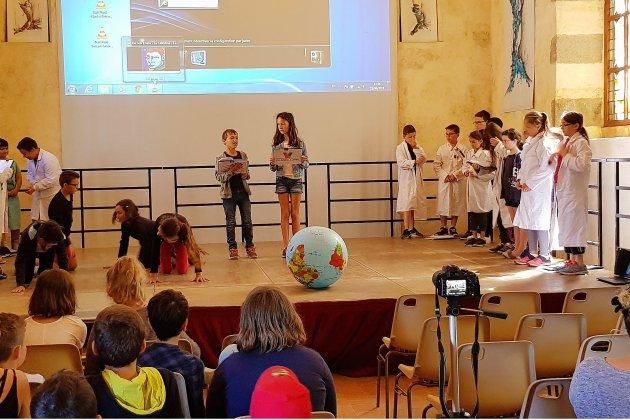 Carrouges. 100 écoliers face au réchauffement climatique
