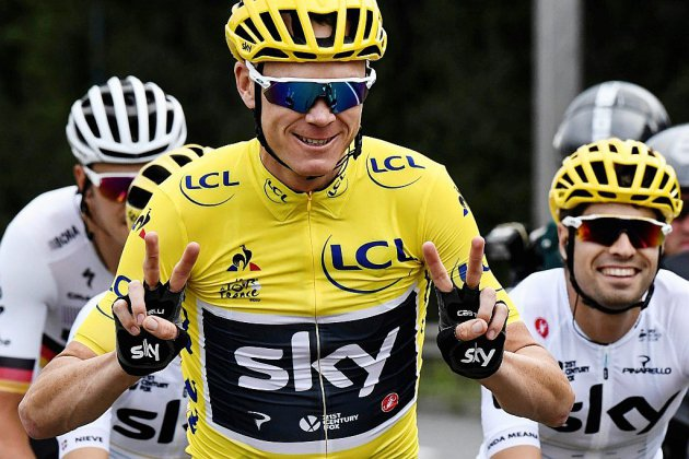 Dopage: l'UCI blanchit Chris Froome