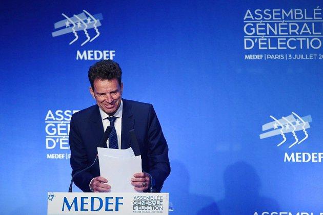 Geoffroy Roux de Bézieux devient le nouveau président du Medef