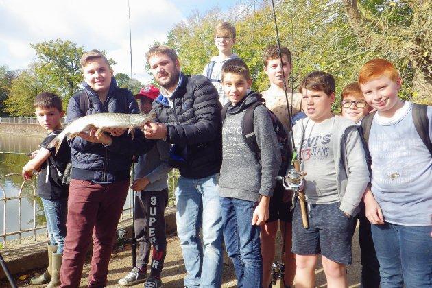 Un ado Normand aux rencontres européennes des jeunes pêcheurs