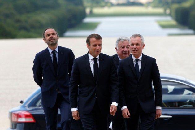 Ouverture du Congrès à Versailles pour l'intervention de Macron