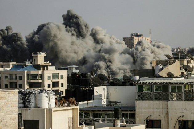 Israël dit avoir mené ses plus grosses frappes contre Gaza depuis 2014, deux Palestiniens tués