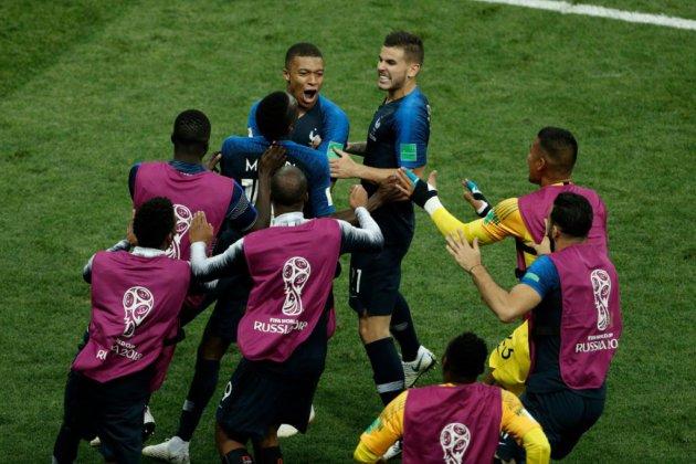 Mondial-2018: la France gagne la Coupe du monde