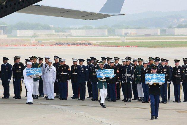 La Corée du Nord commence à restituer les dépouilles de soldats américains