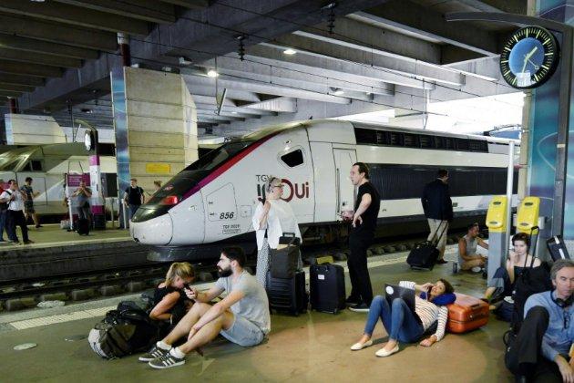 Montparnasse: 2 trains sur 3 assurés, la SNCF demande des indemnisations