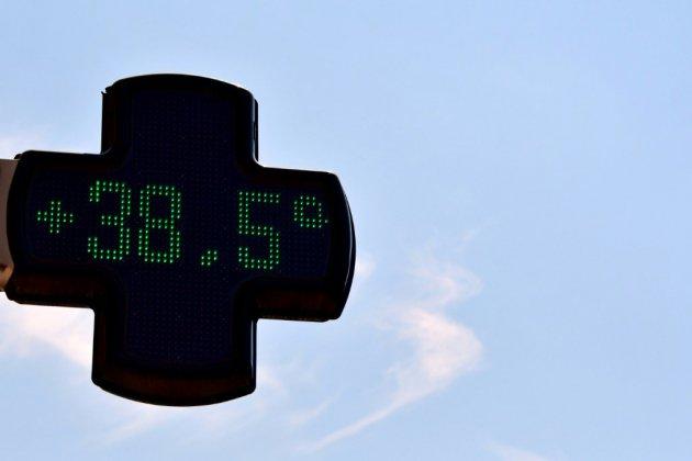 Canicule: un pic de chaleur avant les orages et la chute des températures