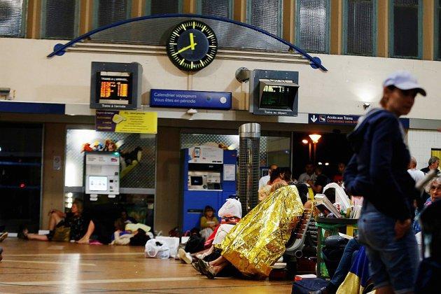 Les orages succèdent à la canicule, perturbant le trafic des trains en Normandie