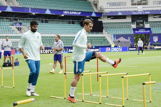Supercoupe d'Europe: Griezmann, Lucas et Varane titulaires