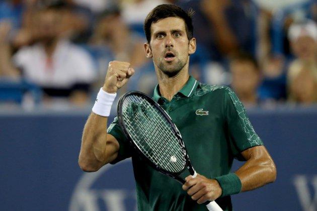 Tennis: Djokovic interrompu par la pluie, programme perturbé à Cincinnati