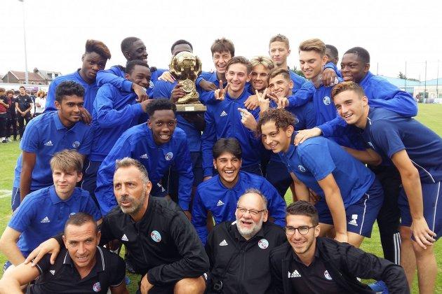 Football : Strasbourg remporte le tournoi Mahmoud-Tiarci en Normandie