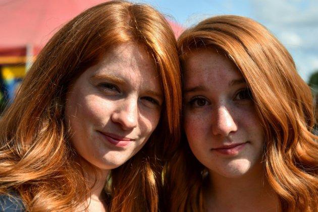 """""""Red love"""": des centaines de têtes rousses se rassemblent  fièrement en Bretagne"""