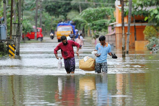 Inde: au moins 445 morts dans les inondations au Kerala
