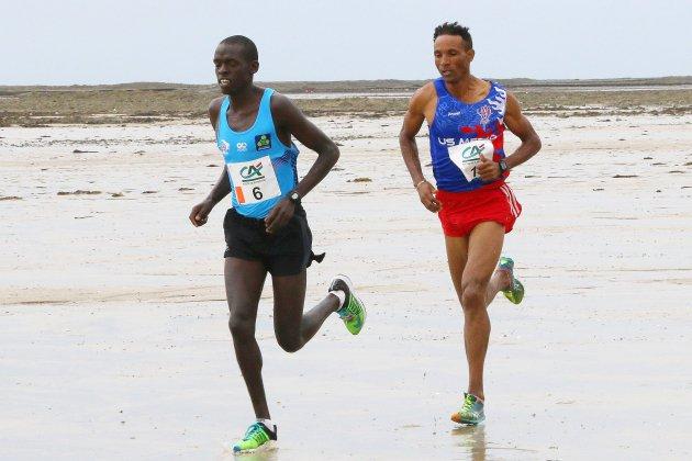 Course à pied : Kevin Kipkemoi (Kenya) et Emeline Siard (France) remportent le 37e Enduro des Sables d'Agon-Coutainville