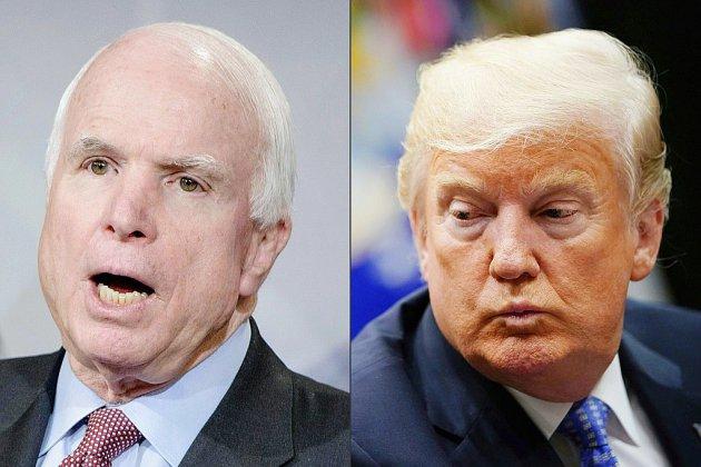 L'assourdissant silence de Donald Trump sur John McCain