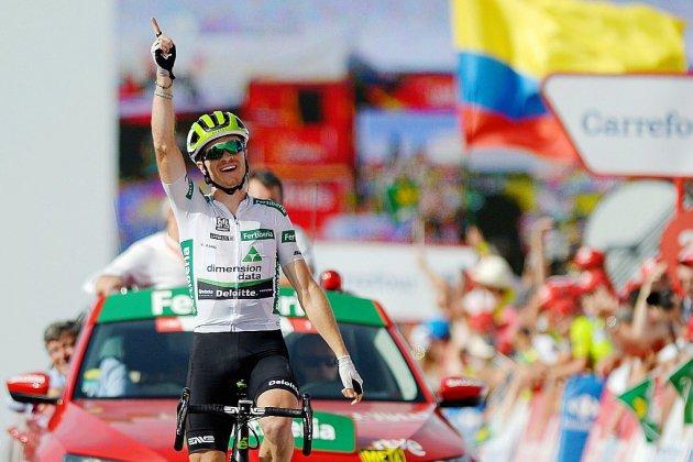 Tour d'Espagne: King roi de la montagne, Simon Yates en rouge