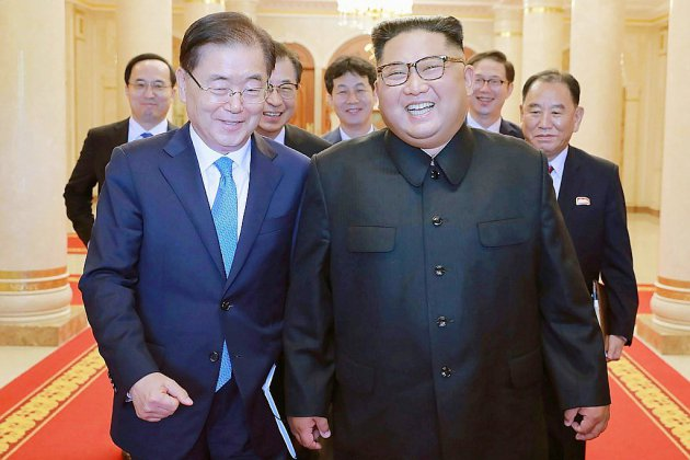 Les deux Corées se réuniront en sommet à Pyongyang du 18 au 20 septembre (Séoul)