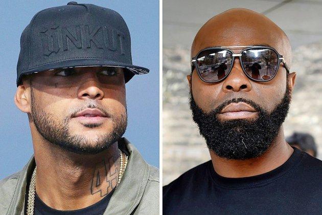 Rixe à Orly: un an avec sursis requis contre les rappeurs Booba et Kaaris