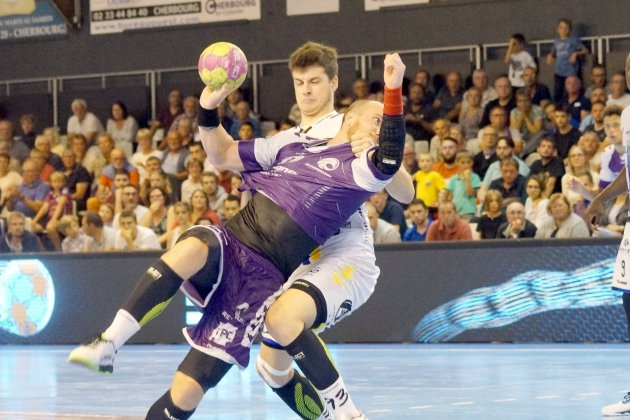 Handball : les Normands logiquement sortis de la Coupe de la Ligue