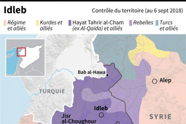 Syrie: la bataille d'Idleb, une question de vie ou de mort pour des jihadistes étrangers