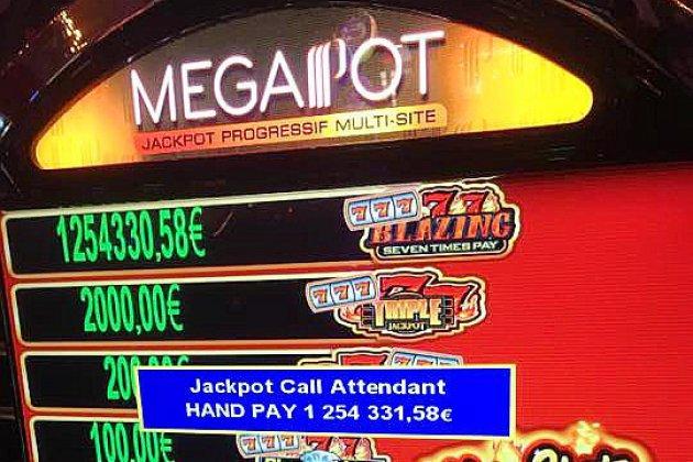Jackpot au casino de cabourg