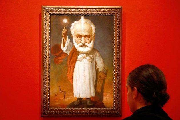 Victor Hugo, le monstre sacré le plus caricaturé de son temps