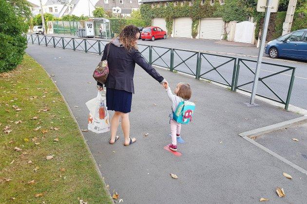 À Caen, des chemins spéciaux mis en place pour aller à l'école