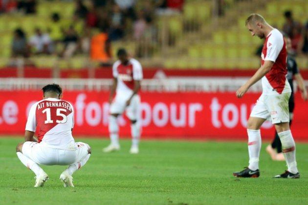 Ligue 1: ça commence à être grave pour Monaco, tenu en échec par Nîmes
