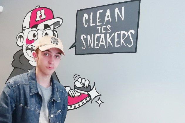 Caen : chez Sneackers Lab les vieilles baskets se refont une jeunesse!