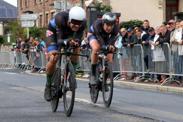 Cyclisme : Le Danemark règne sur le 37e Duo Normand de Marigny