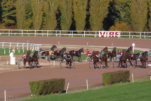 Hippodrome de Vire : un cheval de course termine dans les tribunes