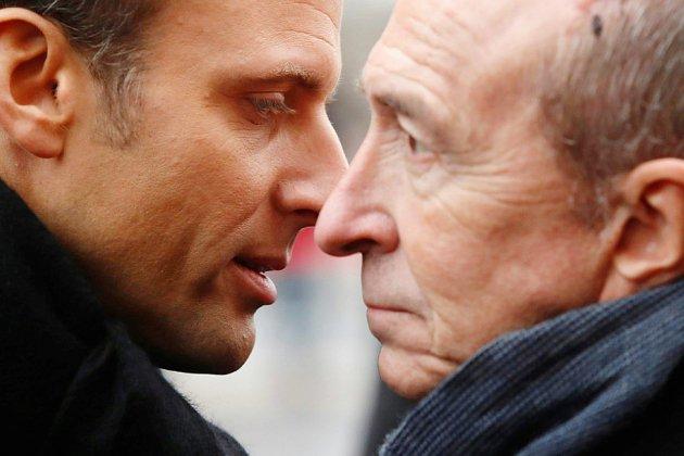 Privé de Collomb, Macron plonge à nouveau dans la crise