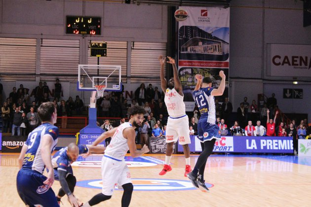 Leaders Cup Pro B : Caen s'impose contre Rouen (101-98)