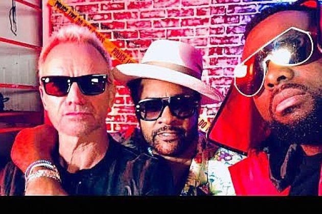 Maitre Gims s'invite dans un duo entre Sting et Shaggy !