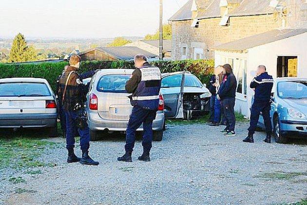 Normandie: démantèlement d'une bande organisée, quatre personnes en examen